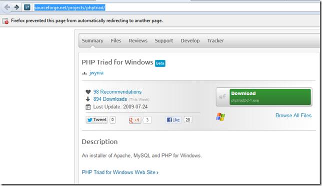 PHPTriad1