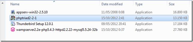 PHPTriad2