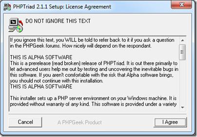 PHPTriad3