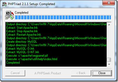 PHPTriad4