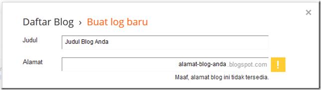 alamat blog tidak tersedia