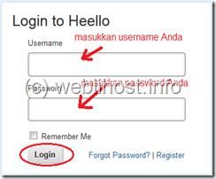 halaman login heello
